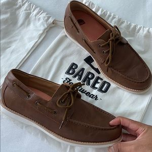 Polonium Chocolate Boat Shoes